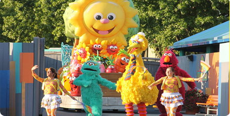 Family 4 pack of Tickets to Sesame Place