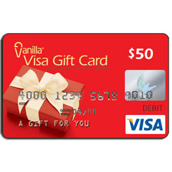 Mother's Day $50 Visa Giveaway
