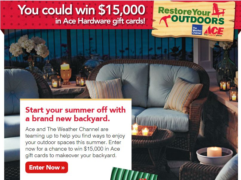 Restore Your Outdoors Sweepstakes