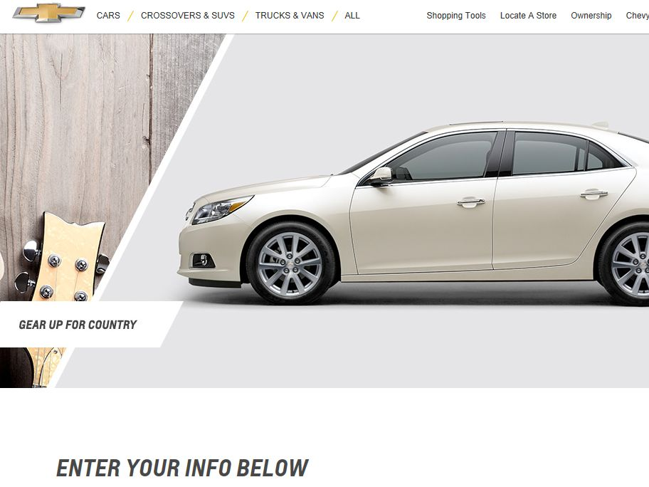 2013 Chevrolet and CMA Music Festival Sweepstakes