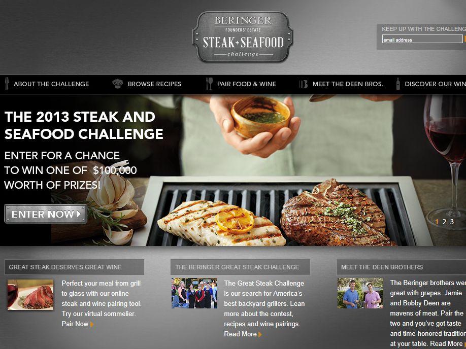 Beringer Great Steak Challenge 2013 Sweepstakes