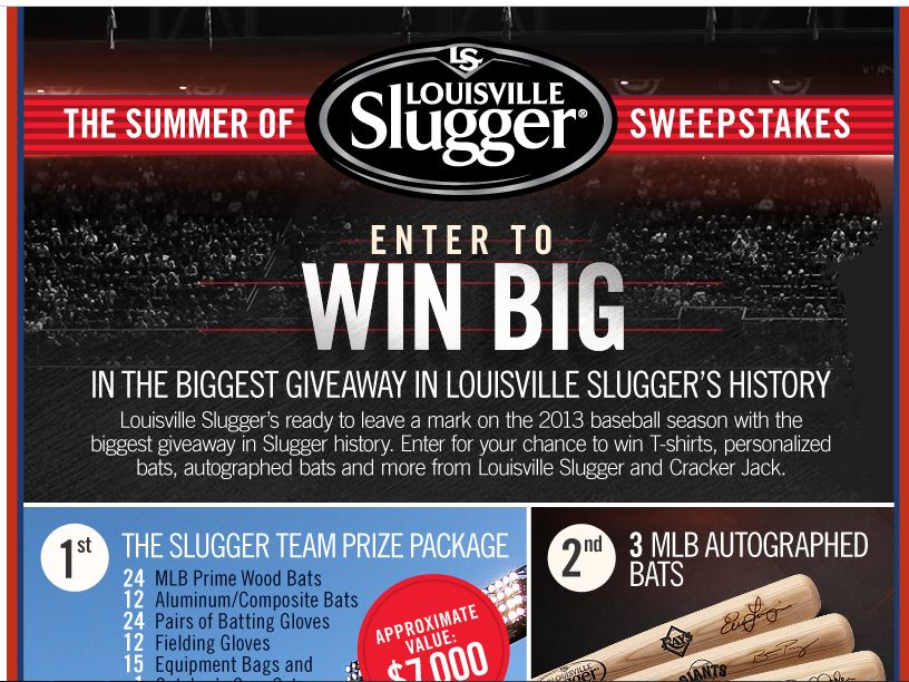 Louisville Slugger Crack of the Bat Sweepstakes
