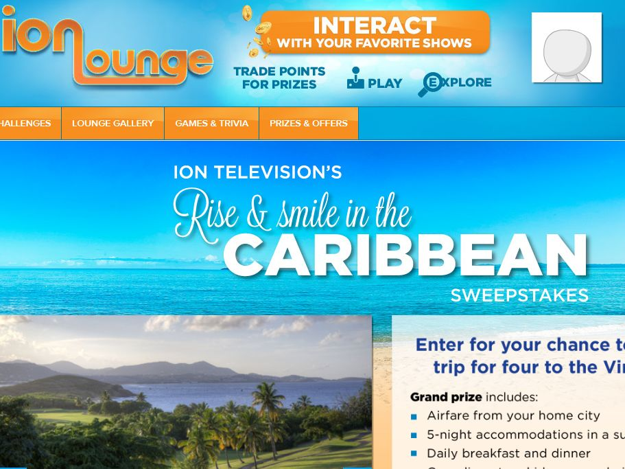 ION Television's 'Rise & Smile in the Caribbean' Sweepstakes