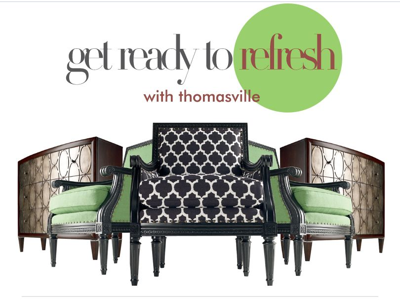 Thomasville Get Ready to Refresh Giveaway
