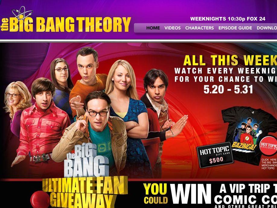 Big Bang Ultimate Fan Giveaway Sweepstakes