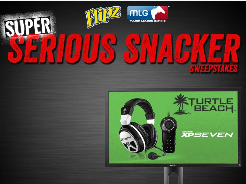 FLIPZ Pretzels Super Serious Snacker Sweepstakes