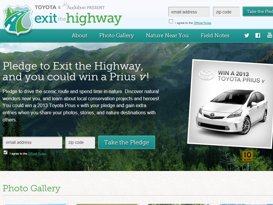 Exit the Highway Giveaway Sweepstakes