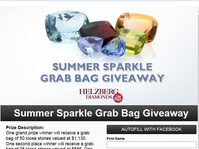 Helzberg Diamonds' 2013 Summer Sparkle Grab Bag Giveaway