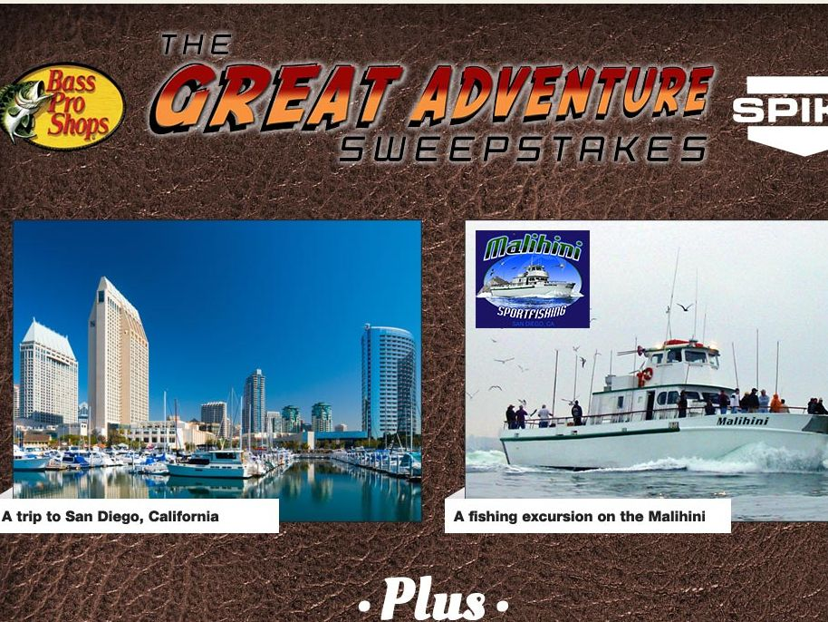 Bass Pro Shops the Great Adventure Sweepstakes