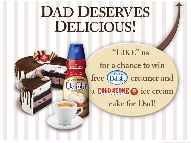 International Delight Father's Day Treat Promotion Sweepstakes
