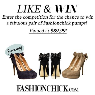 Win a pair of Fashionchick pumps