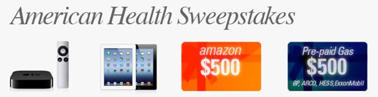 $500 gift card to Target or Walmart- American Health Sweepstakes