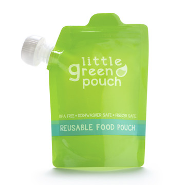 Little Green Pouch reusable food pouches