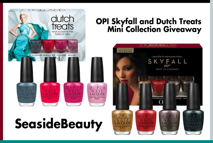 OPI Mini Collection Giveaway