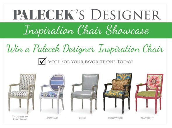 $1000+ PALECEK Designer Inspiration Chair Showcase Contest & Giveaway (ends 05/26))