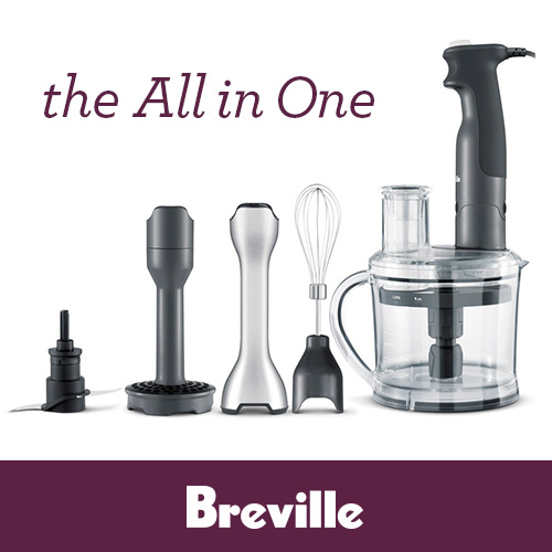 WIN 1 of 4 Breville BSB530XL All in One Blender/Food Processors valued at $199.99