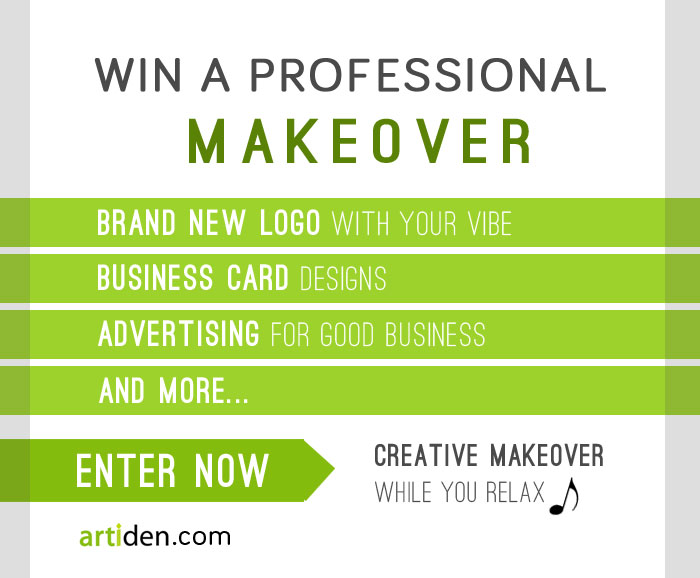 $1,118 Professional Makeover Giveaway: New Logo, Business Cards, & More