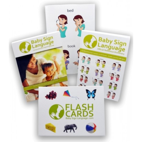 $75 value Giveaway: Deluxe Baby Sign Language Kit