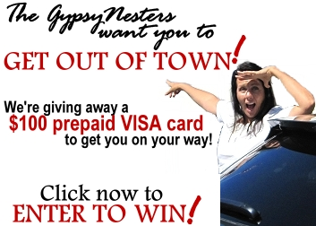 Win a $100 Prepaid VISA Card from the GypsyNesters!