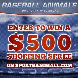 Baseball Animals Sweepstakes