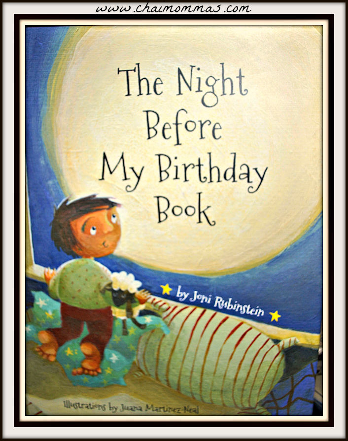 Book Giveaway:The Night Before My Birthday Book