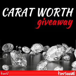 tosSocial Carat Worth Giveaway
