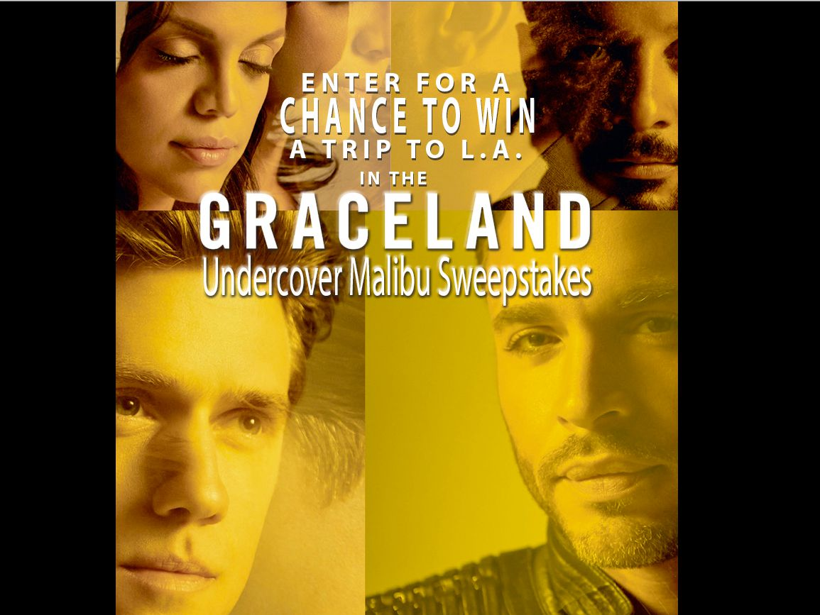 USA Network's Graceland Undercover Malibu Sweepstakes
