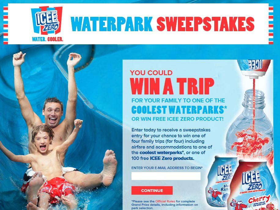 Icee Zero Waterpark Sweepstakes