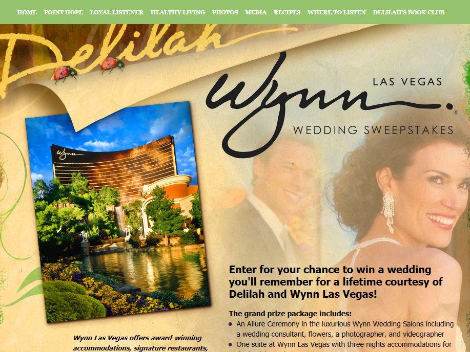 Delilah's Wynn Wedding Sweepstakes