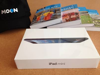 Moon Trip of a Lifetime iPad Mini Contest!