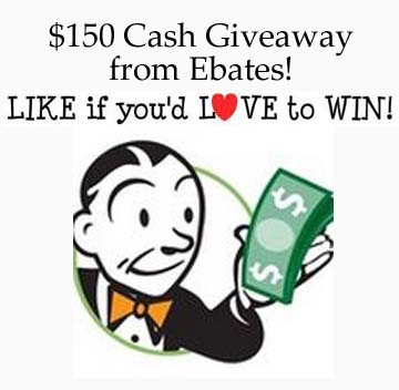 $150 Cash from Ebates (ends 06/25)