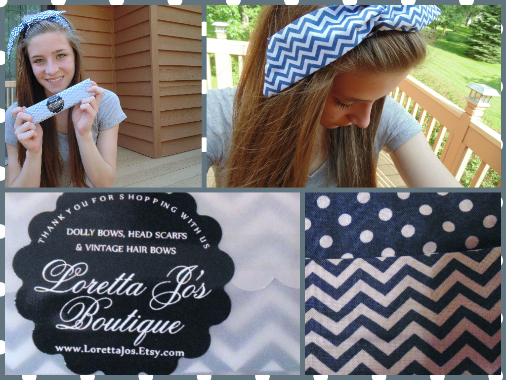 Chevron and Polka Dot Dolly Bow Giveaway