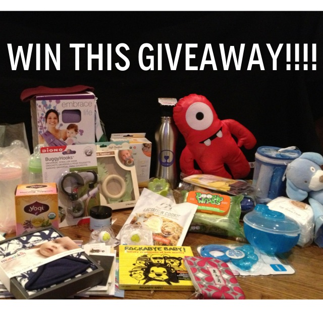 $400 Baby Swag Bag Giveaway LOW ENTRIES (ends 06/17)