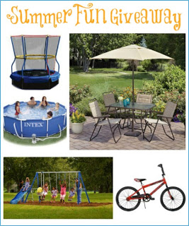 SUMMER FUN GIVEAWAY – 5 Prizes = 5 Winners