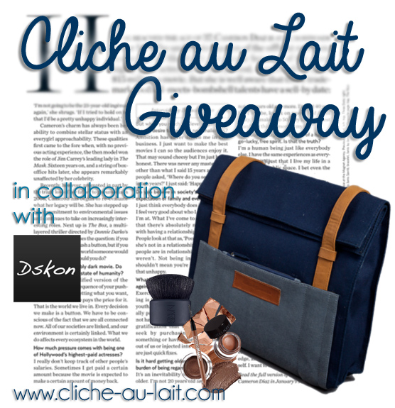 Get the chic-est look with Navy Bag from Birthday Giveaway by Cliche-au-lait.com