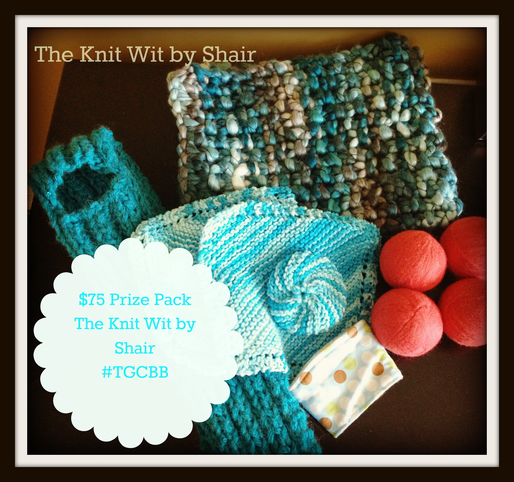 $75 Prize Package for The Knit Wit by Shair