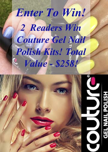 2 Couture Gel Nail Polish Kits! Total Value $258 (ends 07/02)