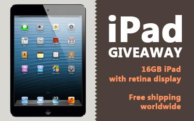 16GB iPad Giveaway