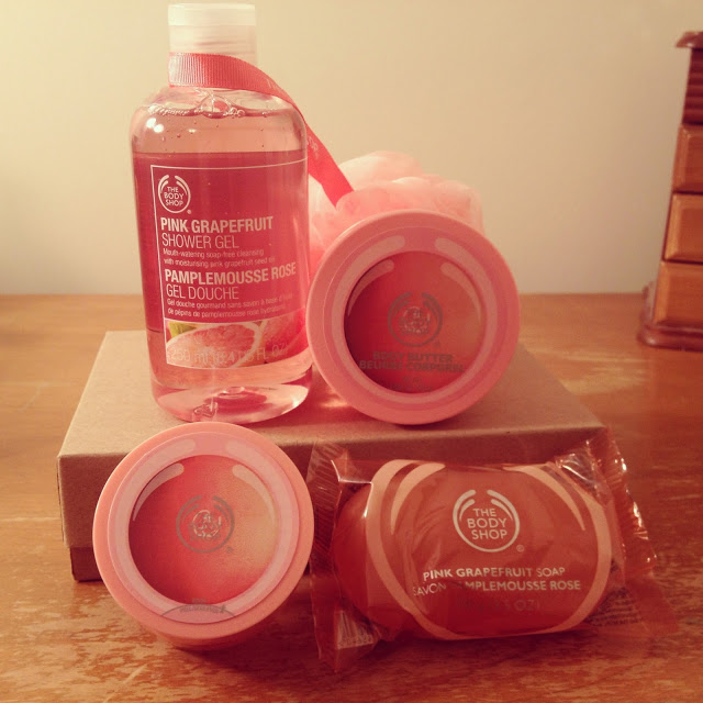 Win a gift set from The Body Shop!