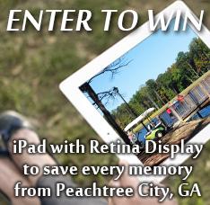 Peachtree City iPad Giveaway