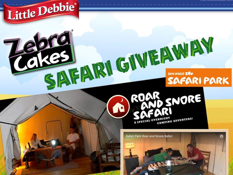 2013 Little Debbie Safari Park Giveaway