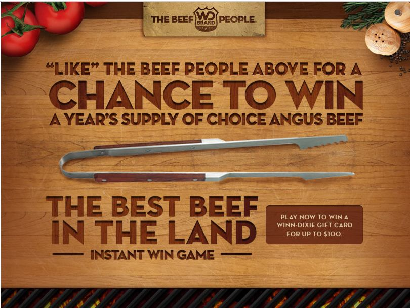 Beef People-Best Beef in the Land Sweepstakes