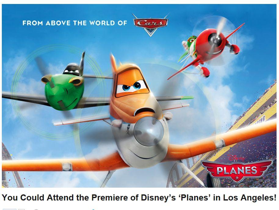 Ryan Seacrest's Disney's Planes Flyaway Sweepstakes