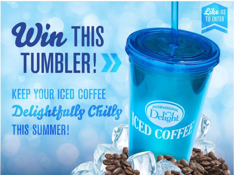 ID Iced Coffee Tumbler Giveaway