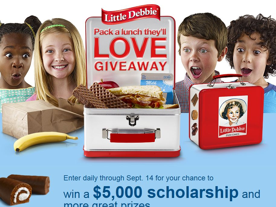 """Little Debbie """"Pack a Lunch They'll Love"""" Giveaway"""