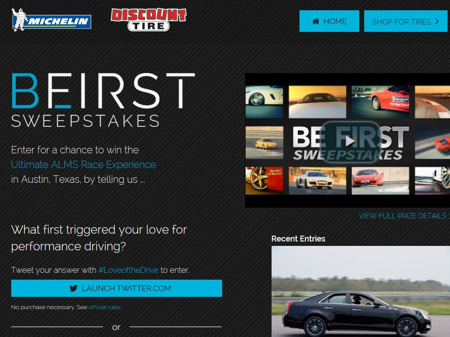 Be First Sweepstakes