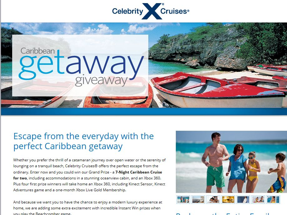 Celebrity Cruises Caribbean Getaway Giveaway