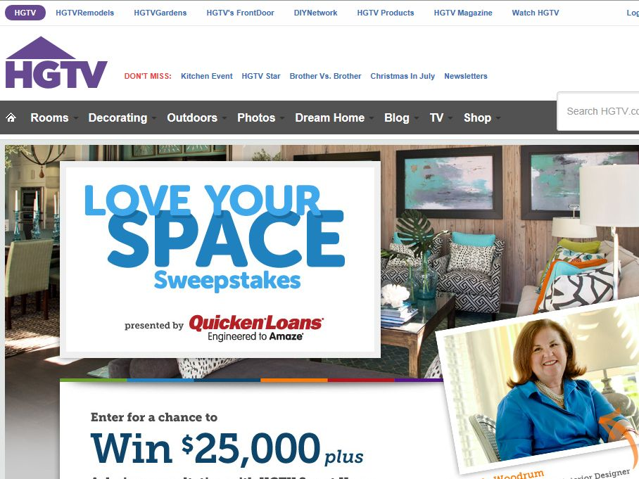 Love Your Space Sweepstakes