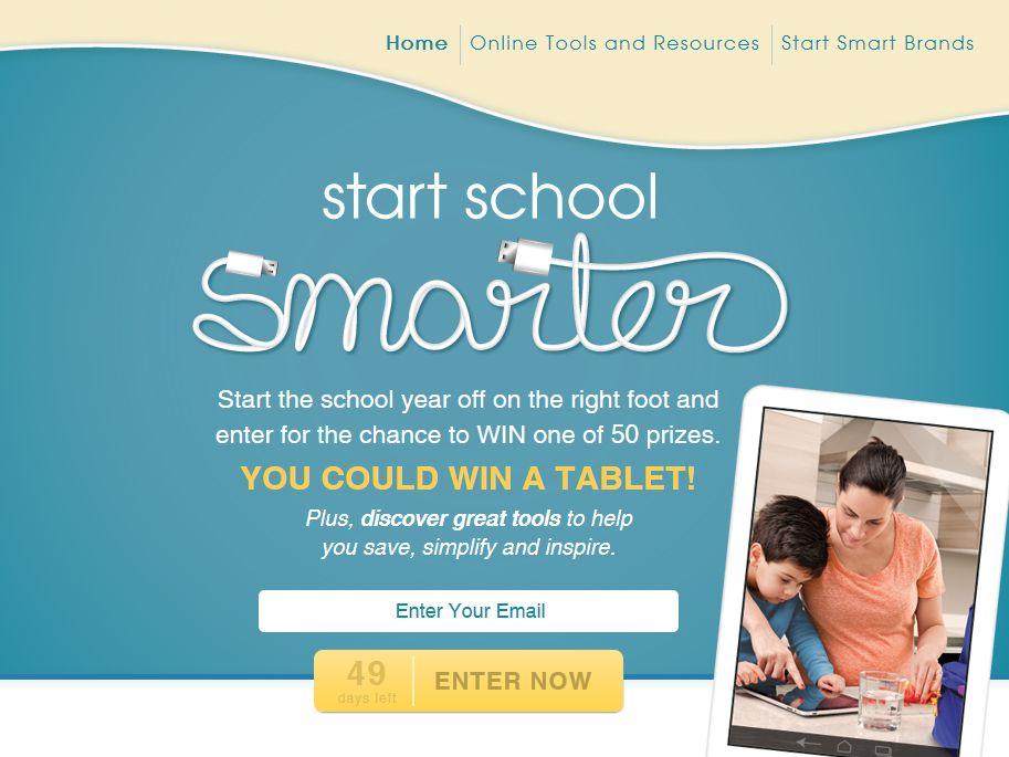 Start School Smarter Sweepstakes