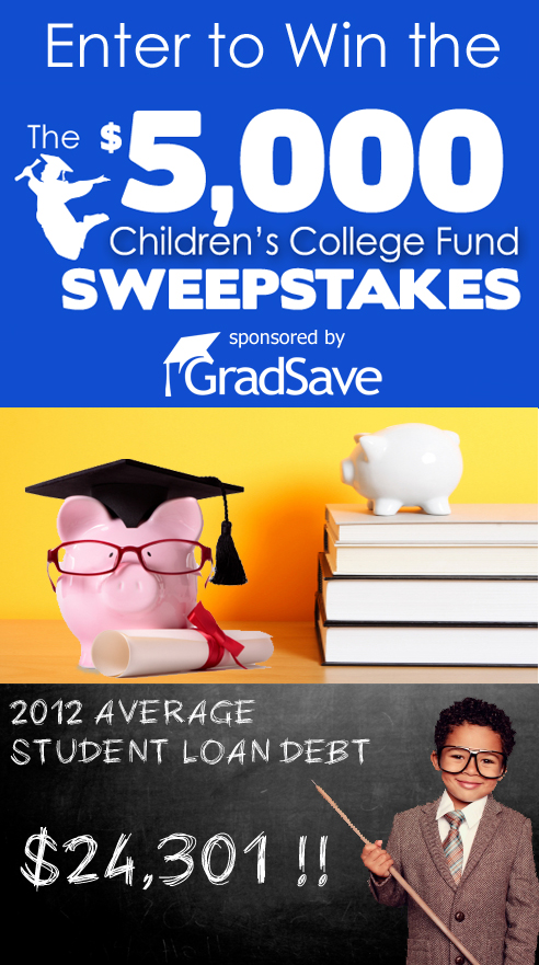 $5,000 Children's College Fund Sweepstakes